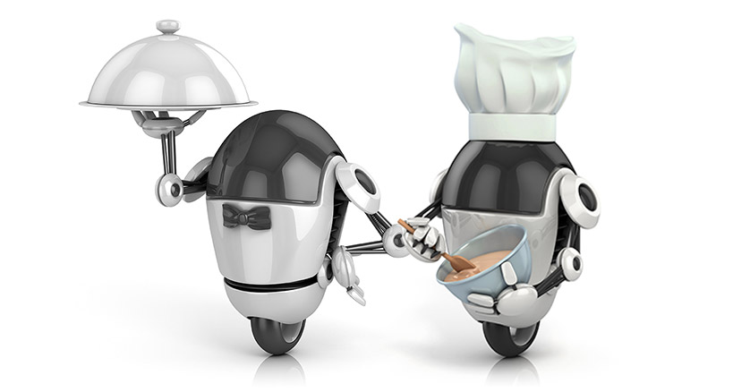 Robots are one of the many forms of food technology that are expected to transform the food industry.