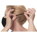 Winco MSK-4GML Adjustable/Reusable 2-Ply Cotton/Poly Face Mask, Gray, M/L, 2/Pack addl-2