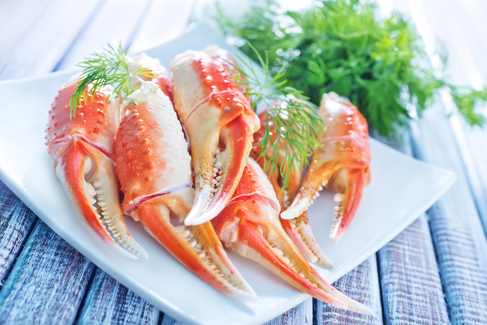 On March 9th AKA National Crabs day indulge in delicious and  tasty crab delicacy.