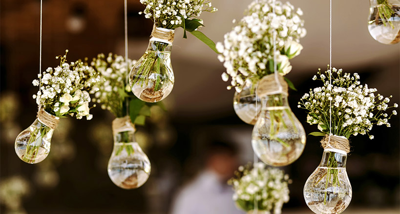 DIY Event Planning Flowers and Music