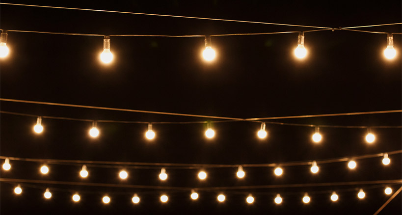 Outdoor Lighting For A Great Event