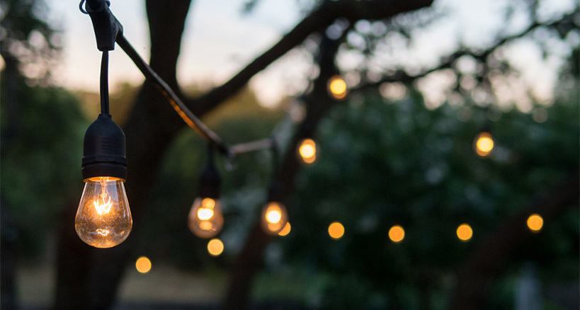 Outdoor Lighting For Parties