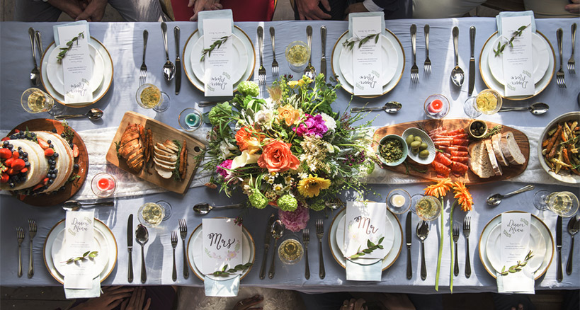 Keep on Top of Wedding Food Trends to Stay Current