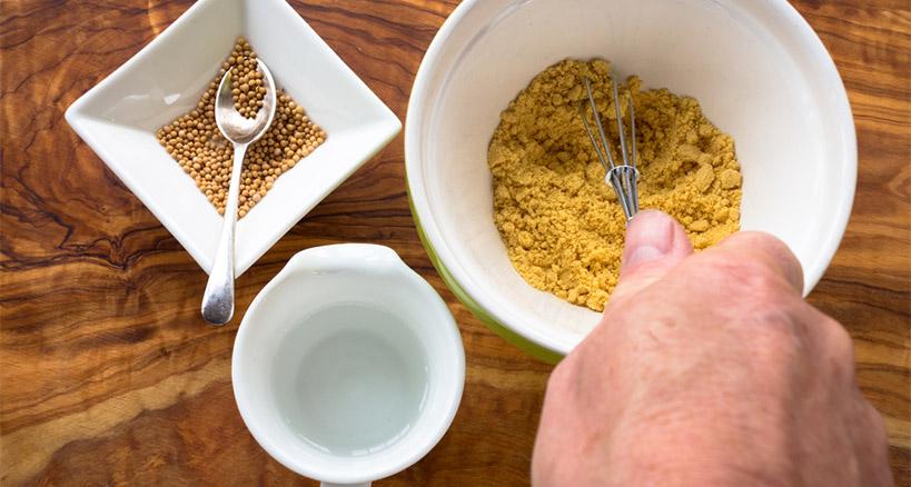 Homemade mustard