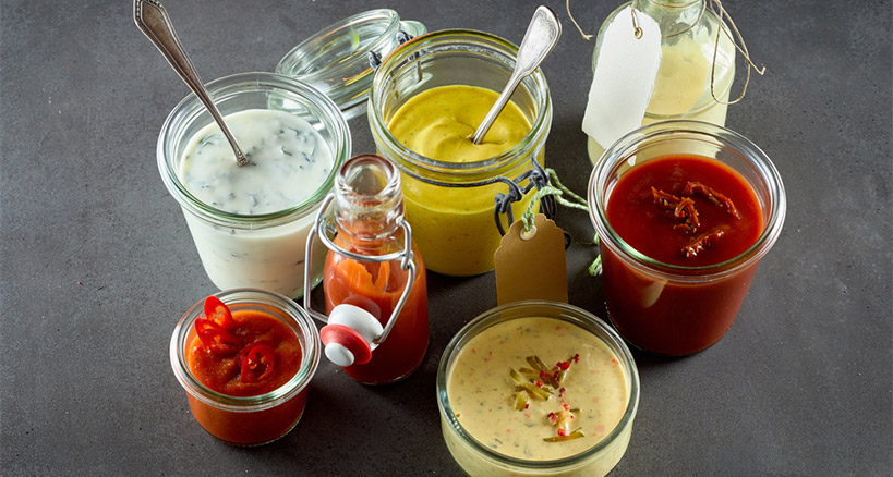 Homemade Condiments: A Caterer's Big Drawing Card