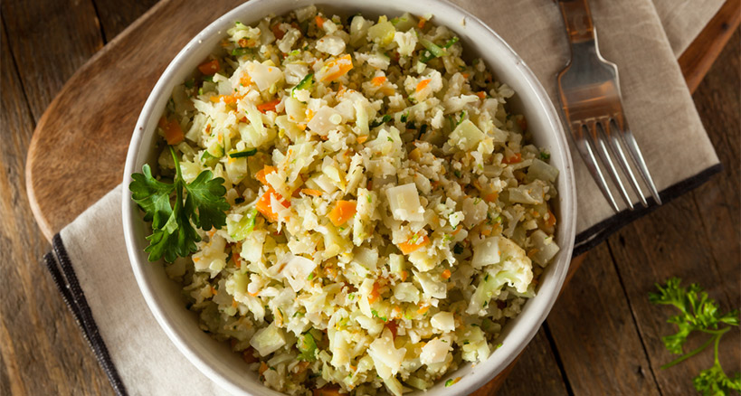 The carb vegetable switcheroo