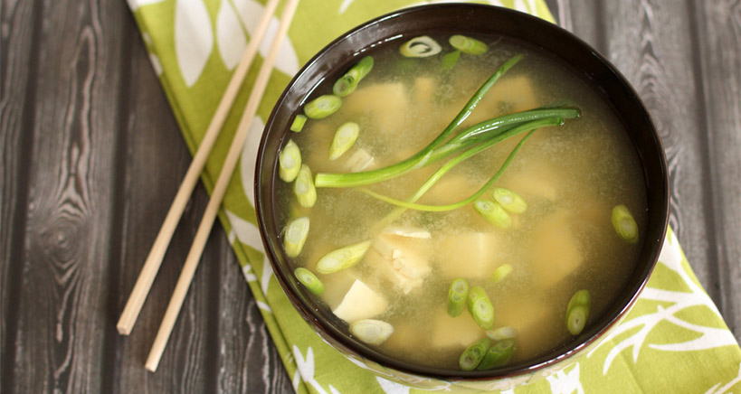 Miso microbiome soup