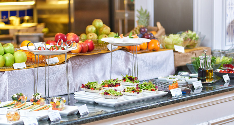 Add Dimension and Style to Your Catered Buffet to Stay Current