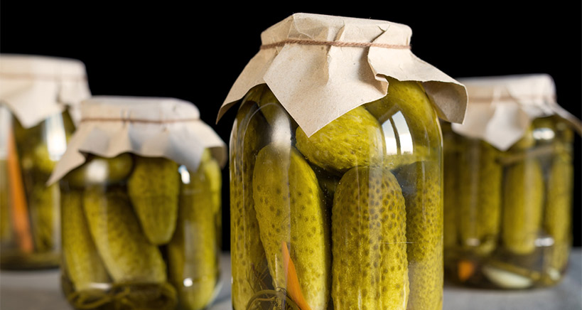 Perfect the art of pickle making