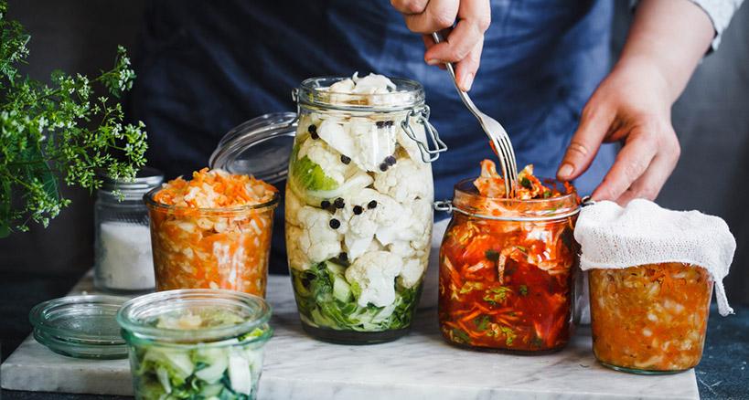 Kimchi, a Korean specialty