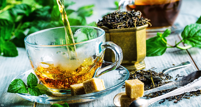 The changing face of tea