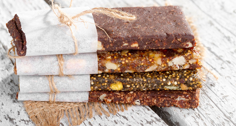 Chocolate dried fruit bar