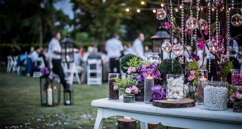 The popularity of outdoor catering on the rise with new venues and menus