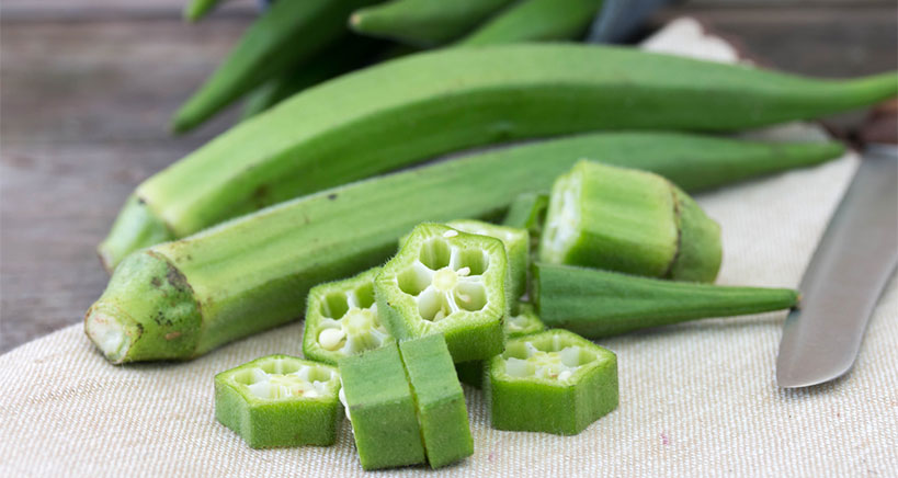 Nutritious and delicious okra, okra seeds, and okra water appearing on menus