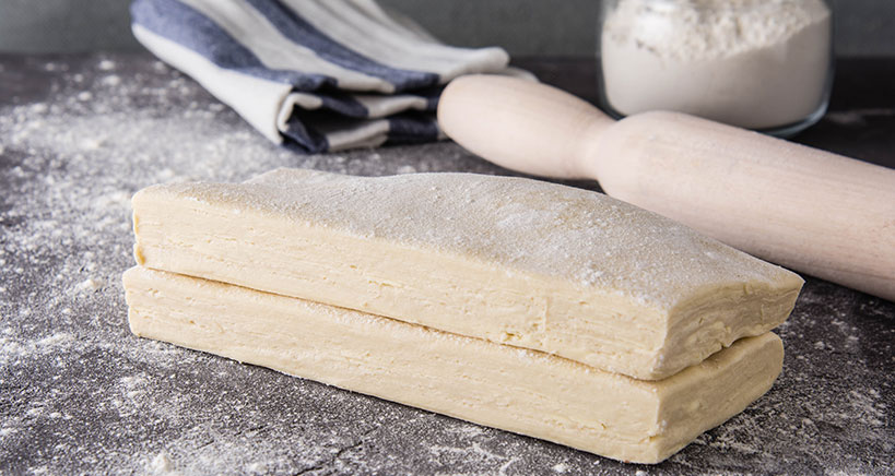 Become a master in the art of working with all types of pastry dough including French pastries.