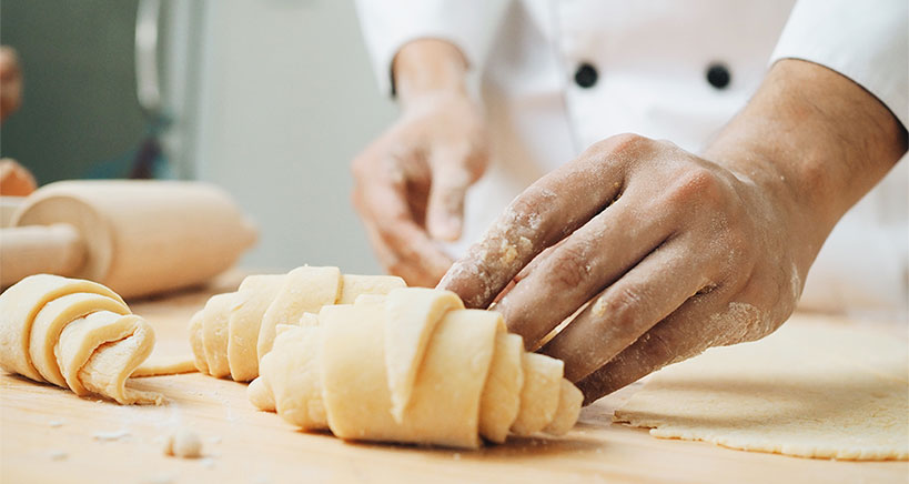 Discover the fine art of pastry making with this easy-to-read pastry dough guide.
