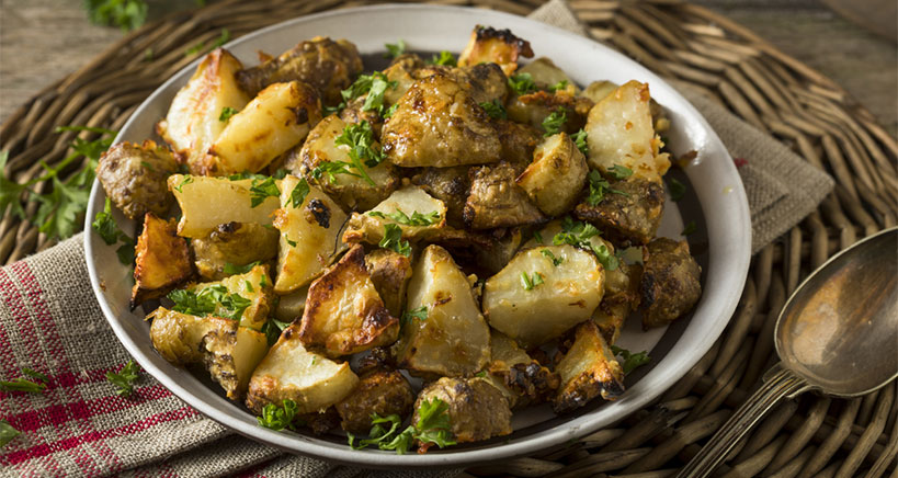 Roasted Jerusalem artichoke recipe