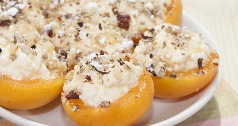 Gluten-Free Stuffed Apricot Appetizers