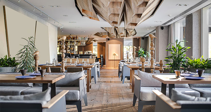 New, creative and far-out restaurant designs will enhance customer experiences.
