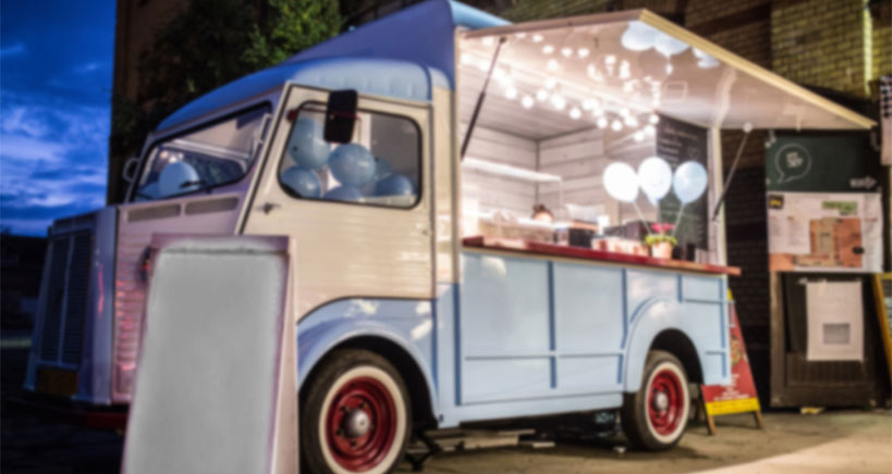 New in food truck trends