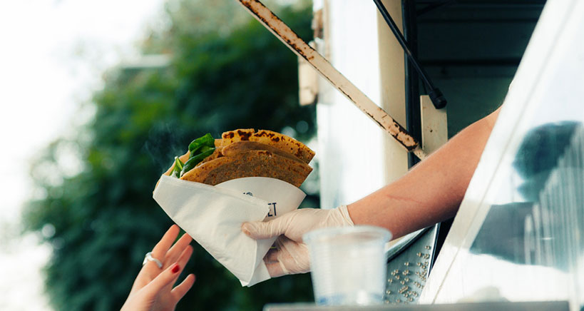 Food trucks continue to evolve and re-invent the wheel in food service.