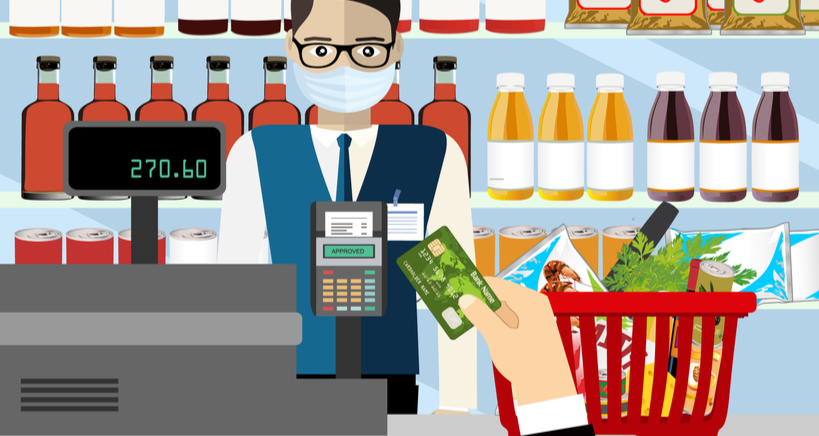 Add selling groceries to your restaurant's menu to sustain busciness despite corona