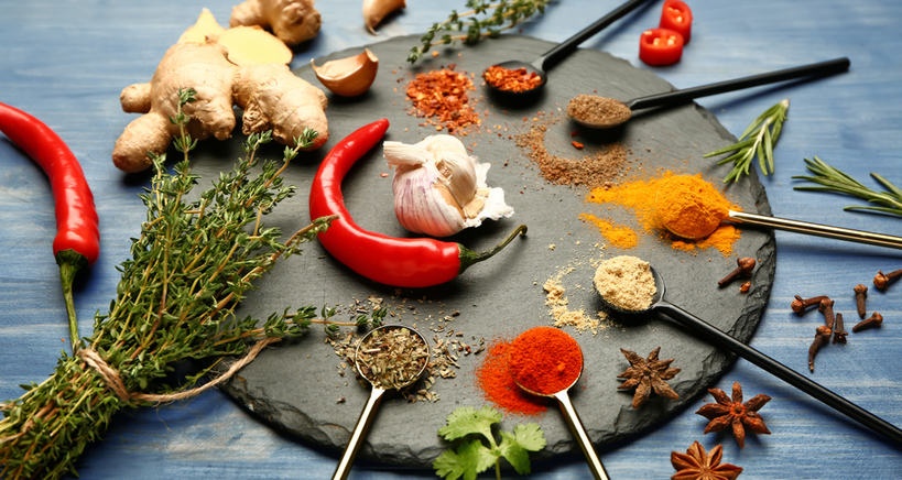Chefs maximize the use of spices and herbs in the wake of the coronavirus.