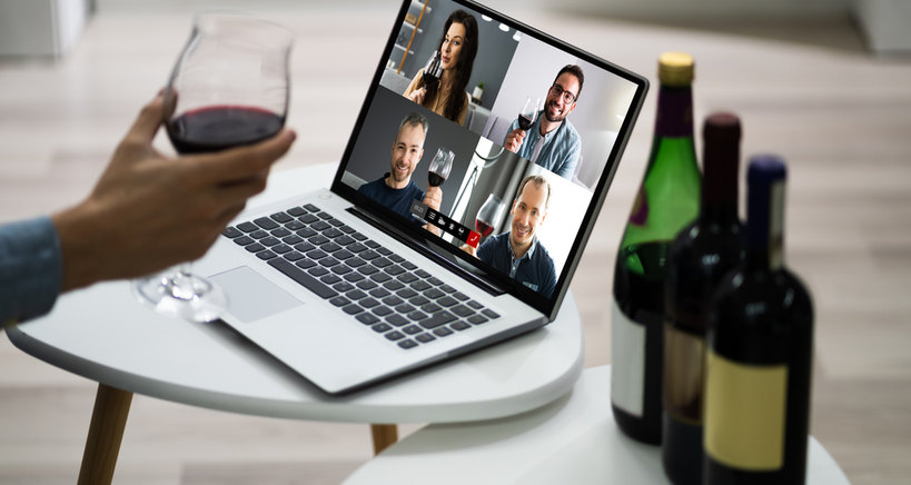 Virtual online tastings make parties exciting during Covid-19.