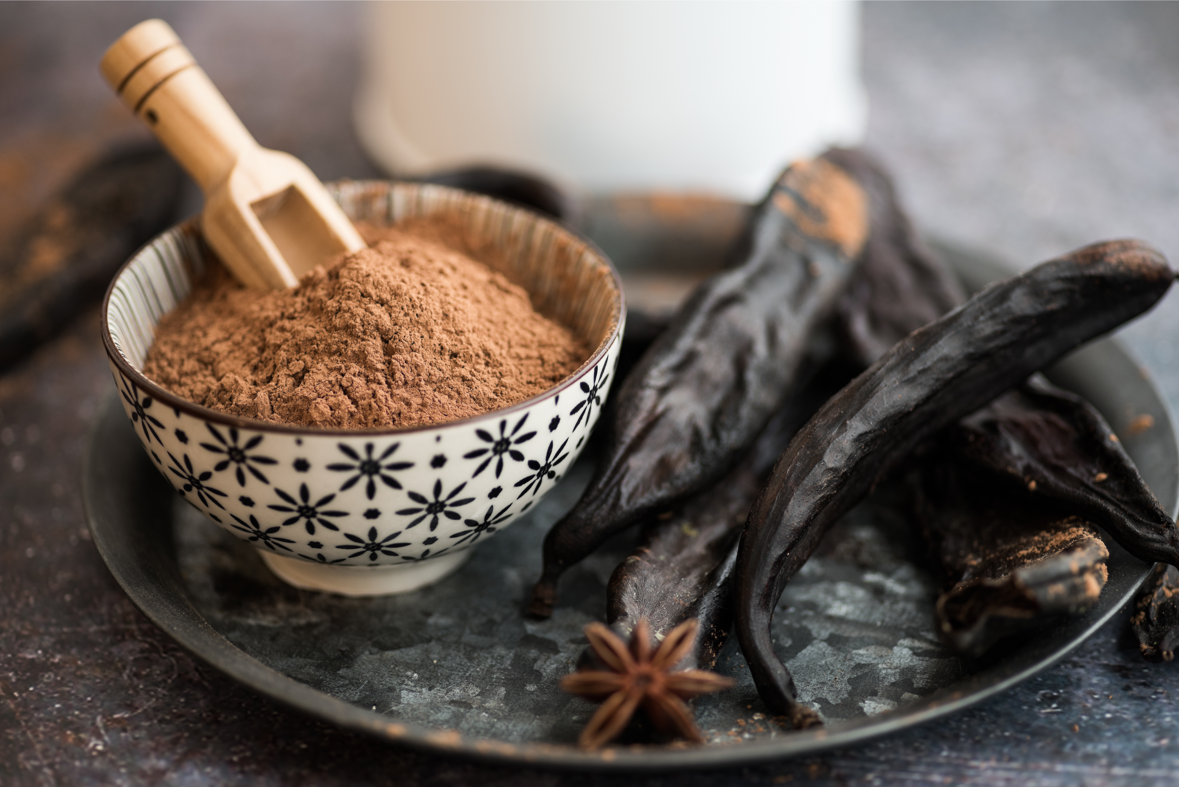 Add natural carob to your menu's recipes and enjoy nature's sweetness.