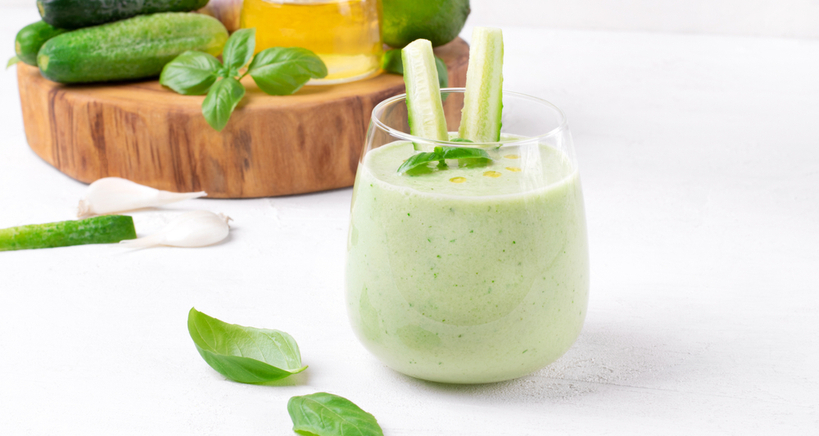 Add Green Gazpacho to your list of summer soups for health and wealth.