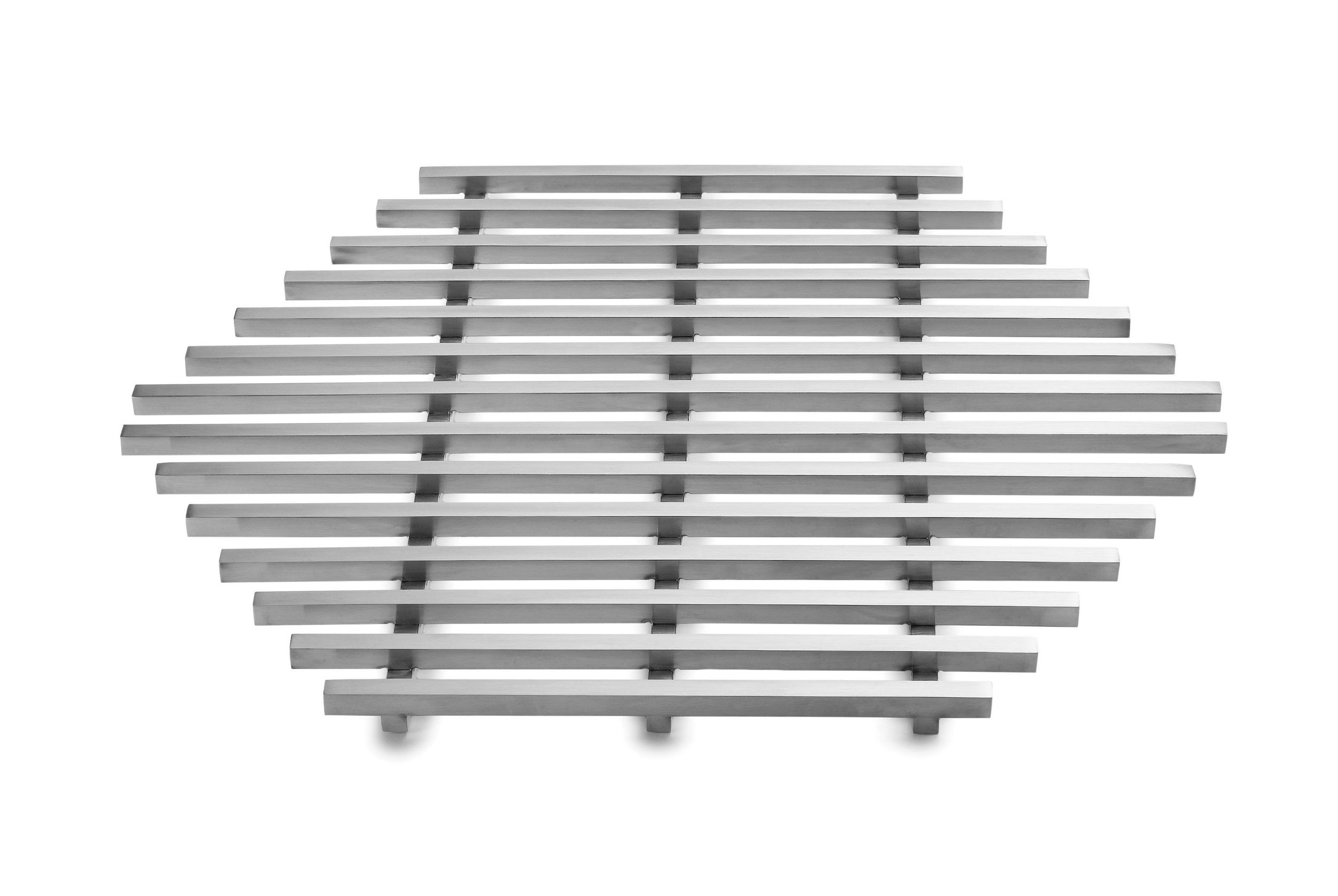 Track Grill Stainless Steel- 13.15