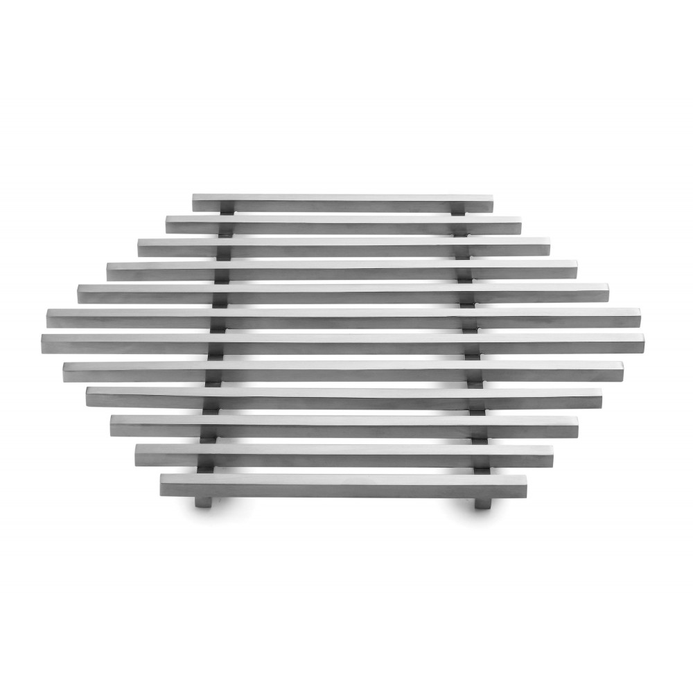 """Rosseto SM223 Honeycomb™ Large Stainless Steel Track Grill 17.75"""" x 15.5"""" x 0.8"""""""