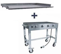 Char Broiler and Griddle