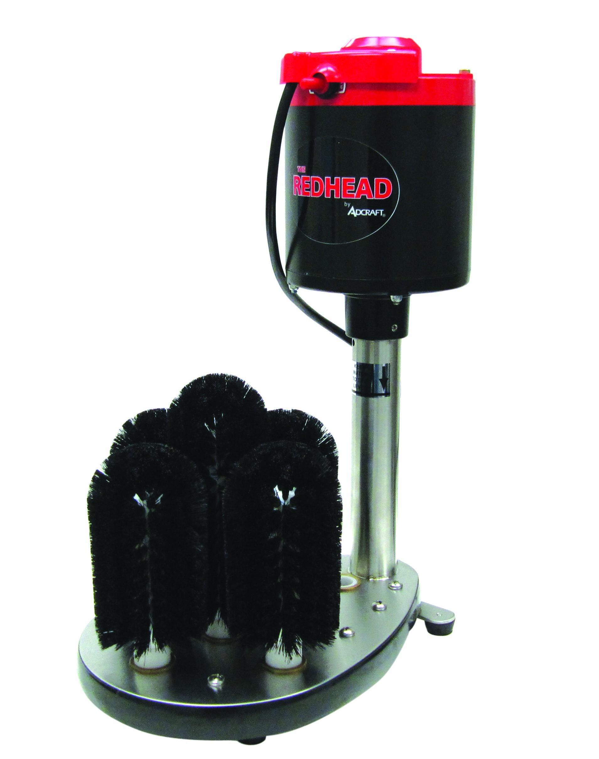 Adcraft GW-120 Upright Redhead Electric Bar Glass Washer. 115V
