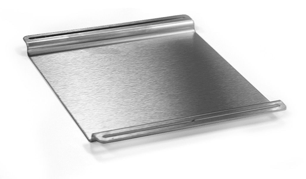 "Rosseto SM142 SKYCAP Stainless Steel Brushed Finish Multi-Level Skycap Cover 6.75"" x 5.75"" x 0.5""H"