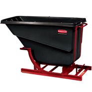 1-1/2 Cu Yd Self Dumpinghopper Black