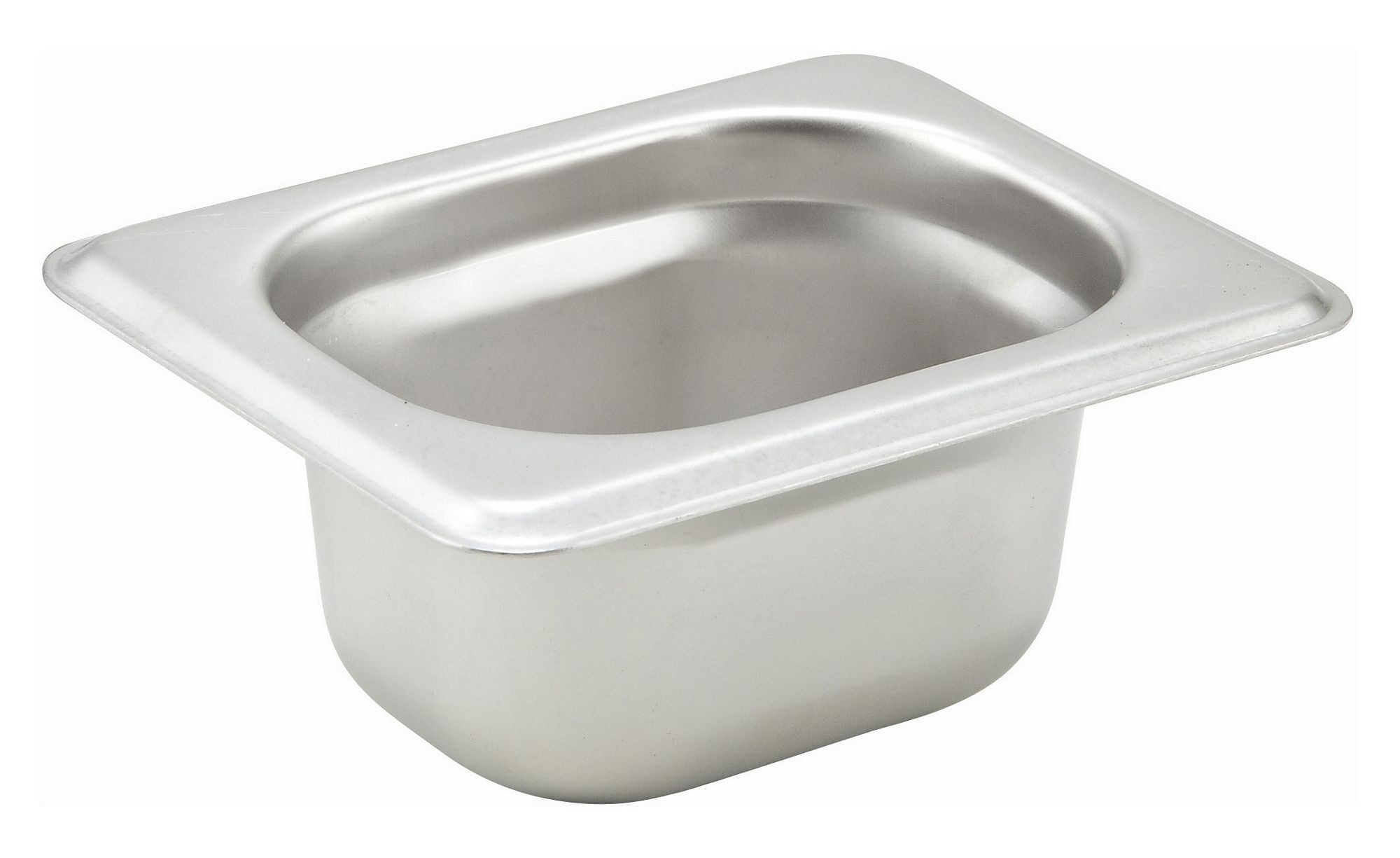 "Winco SPJH-1820 1/18 Size Anti-Jamming Steam Table Pan, 22-Gauge, 2"" Deep"