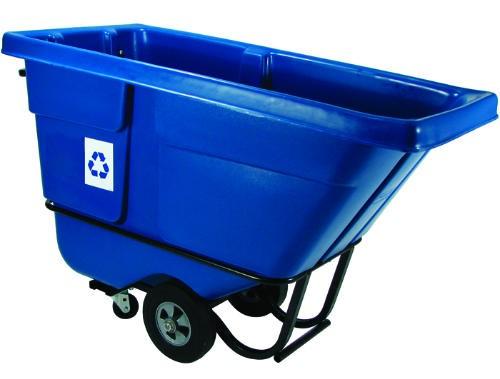 1/2 Cubic Yard Recycling Tilttruck , Standard Duty