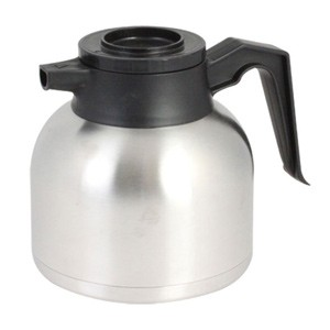 Stainless Steel Coffee Server with Brew-Thru Lid 1.9 Liter