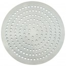 "Winco APZP-10SP 10"" Aluminum Super-Perforated Pizza Disk"