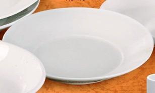 "Yanco ac-410 Abco 10 1/2"" x 1 7/8"" Salad Plate"
