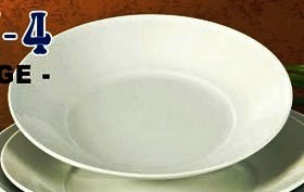 "Yanco RE-210 Recovery 10 1/2"" x 1 7/8"" Salad Plate"