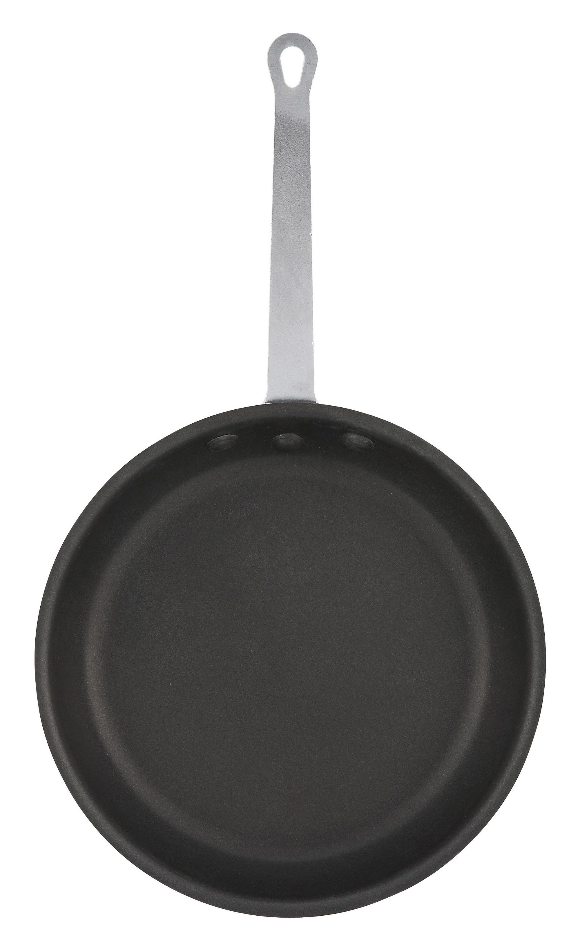 Winco afp-10ns 10 3.5 mm Aluminum Non-Stick Fry Pan