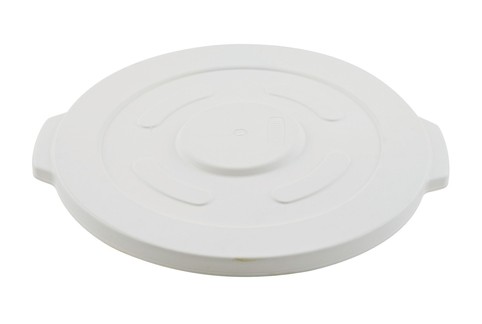 Winco FCW-10L 10 Gallon Lid for Heavy Duty White Container