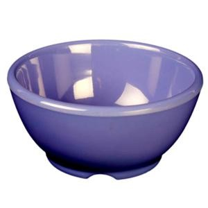 Thunder Group CR5804BU Purple Melamine 10 oz. Soup Bowl 4-5/8""