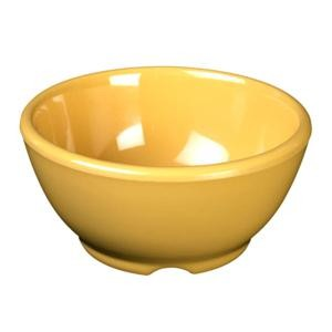 Thunder Group CR5804YW Yellow Melamine 10 oz. Soup Bowl 4-5/8""