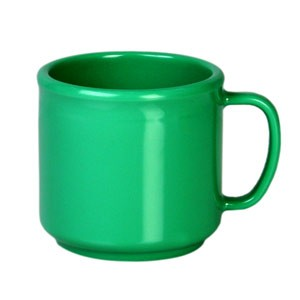 Thunder Group CR9035GR Green Melamine Mug 10 oz.