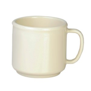 Thunder Group CR9035V Ivory Melamine Mug 10 oz.