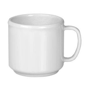 Thunder Group CR9035W White Melamine Mug 10 oz.