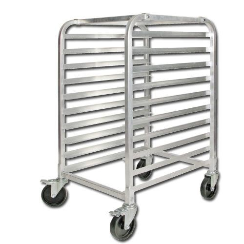 10 Tier Aluminum Rack, Welded